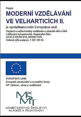 Moderní vzdělávání ve Velharticích II.